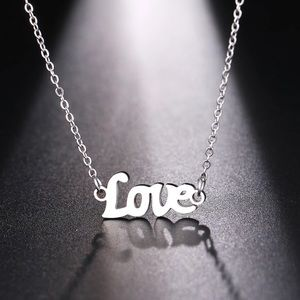Love Stainless Steel Necklace